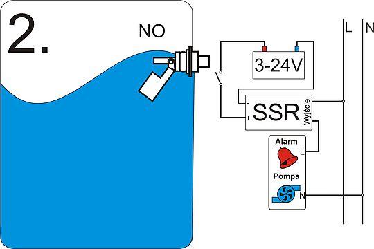 1 St/ück Fl/üssigkeit Wasserstandssensor Horizontale Schwimmerschalter 100 V DC 0,5A Fl/üssigkeitsstand Messen